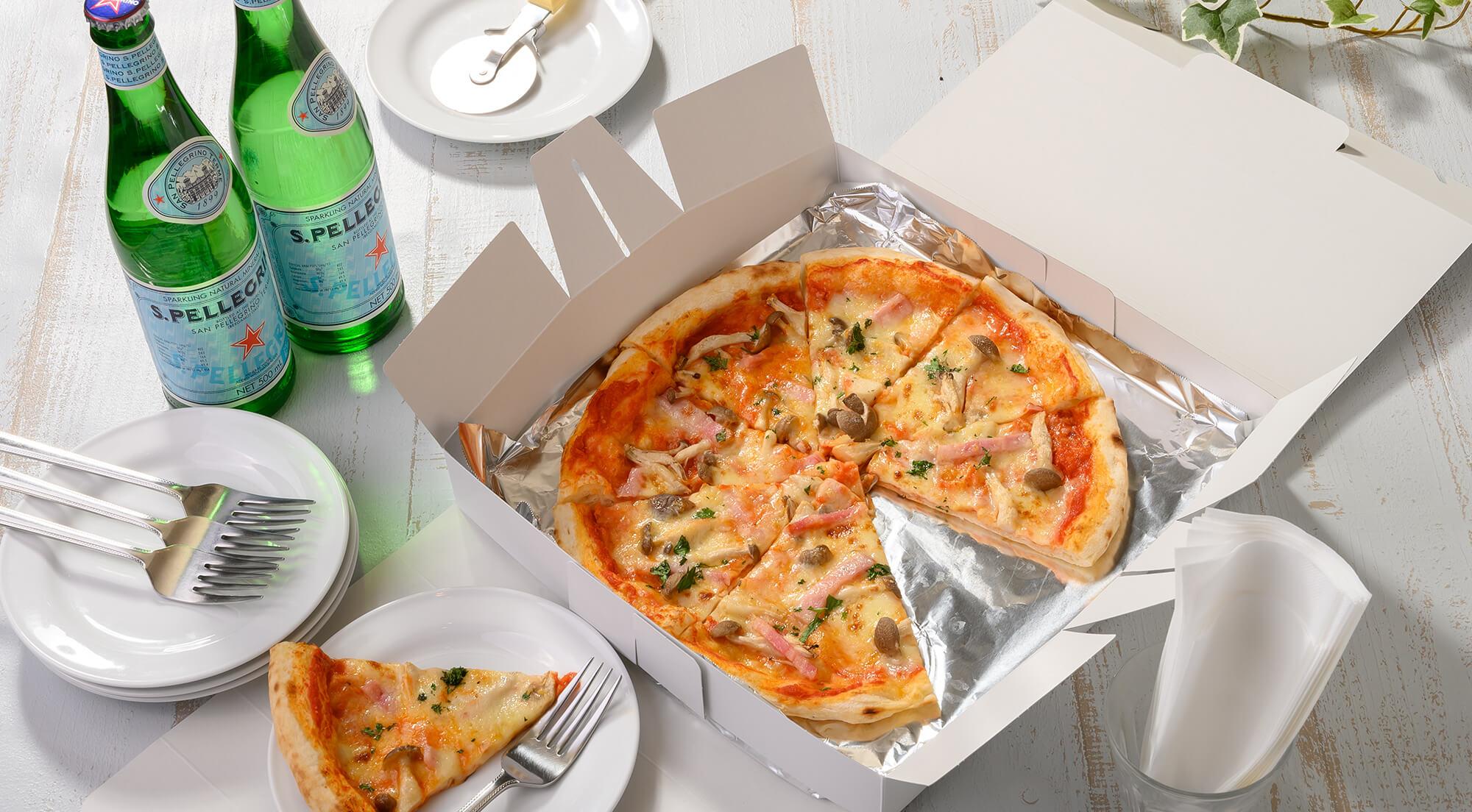 RISTORANTE mica maleの自慢のイタリア料理、ピザの画像